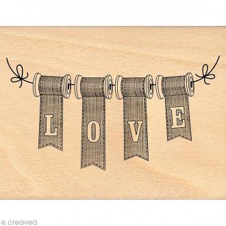 Tampon So lovely - Love bobines - 10 x 13 cm