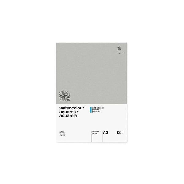 WINSOR & NEWTON Papier aquarelle classique - 300 g/m² - Bloc 12 feuilles - colle 1 cote - a3 - Photo n°2