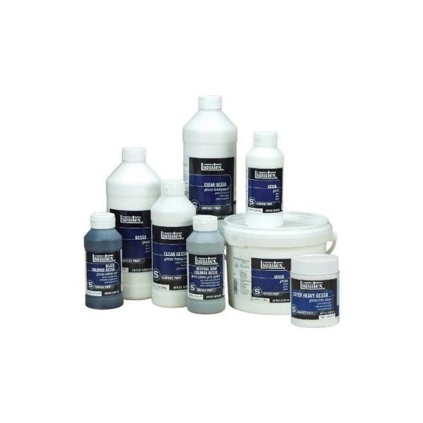 Liquitex Professional Gesso Flacon d'Additif Préparateur de surface transparent 237 ml - Photo n°3