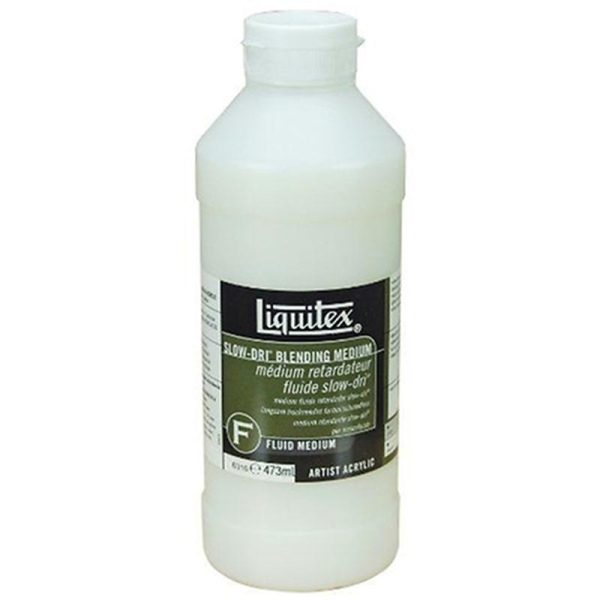 Liquitex Professional Pot d'Additif fluide Retardateur Taille M 473 ml - Photo n°1