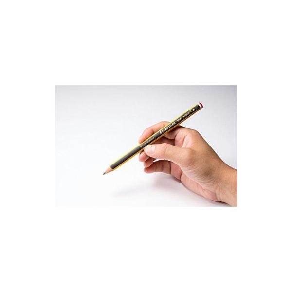 Staedtler 153 Noris Ergosoft Crayon graphite jumbo Mine 2B Boîte de 12 (Import Royaume Uni) - Photo n°3