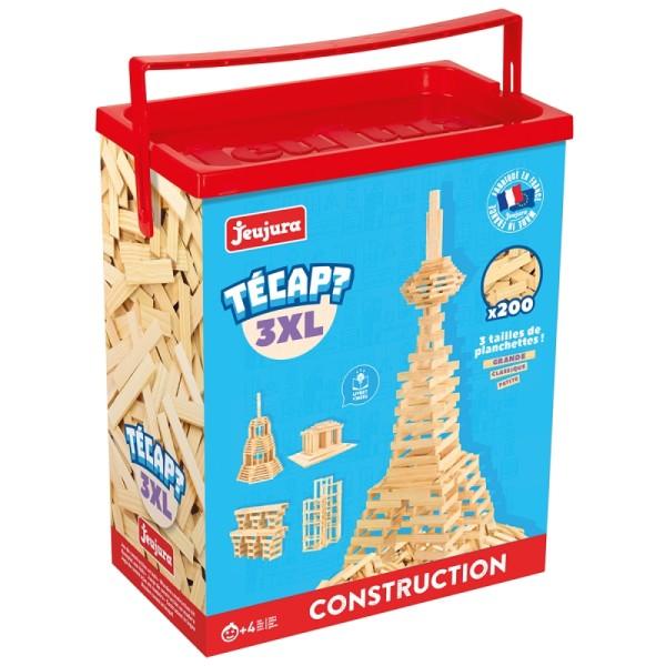 Jeu de construction en bois - Tecap 3 XL - 200 pcs - Photo n°2