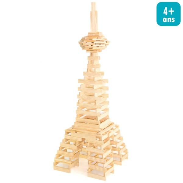 Jeu de construction en bois - Tecap 3 XL - 200 pcs - Photo n°1