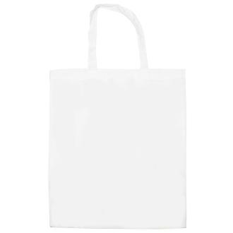 Sac tote bag en coton blanc à customiser - 42 x 38 cm