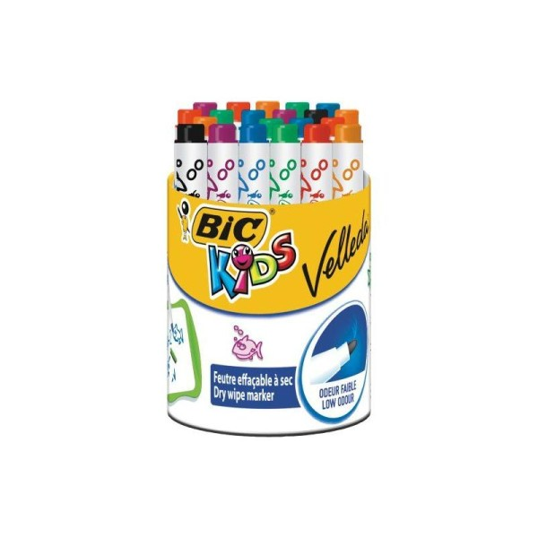 BIC Velleda Pot de 24 Feutres effaçable à sec - Photo n°1
