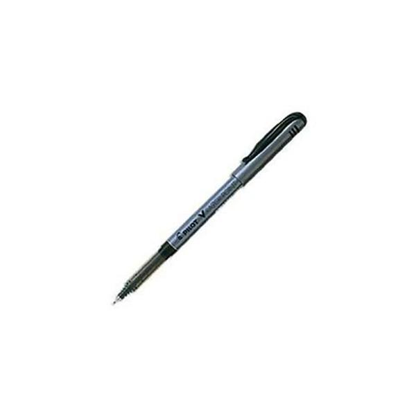 Pilot Lot de 12 stylos feutres Razor pointe à encre liquide Noir - Photo n°1