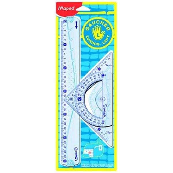 Maped Kit de traçage géométrie incassable Gris - Photo n°3