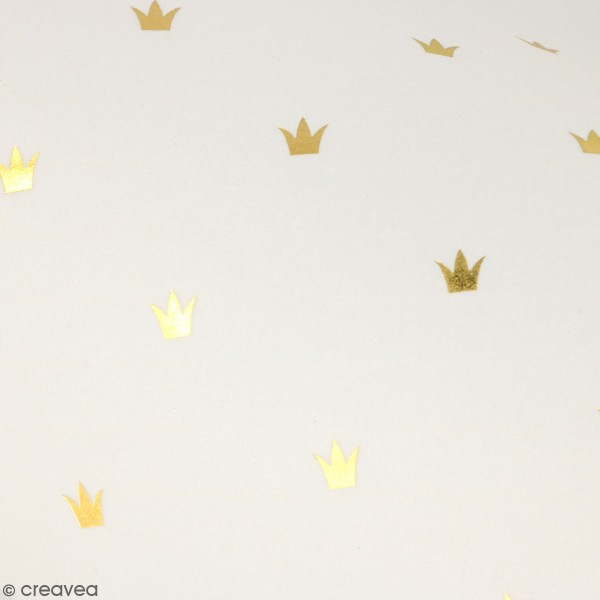 Feuille Calque Artemio - Couronnes - 30,5 x 30,5 cm - 90 g - Photo n°1