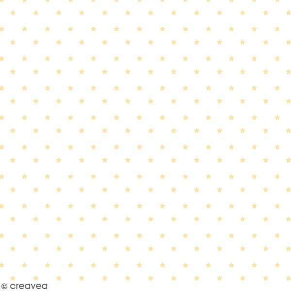 Feuille Calque Artemio - Etoiles Dorées - 30,5 x 30,5 cm - 90 g - Photo n°1