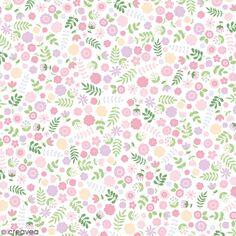 Feuille rhodoïd transparente Artemio - Fleurs - 30,5 x 30,5 cm