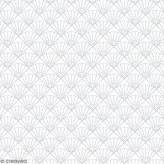 Feuille Calque Artemio - Eventails - 30,5 x 30,5 cm - 90 g