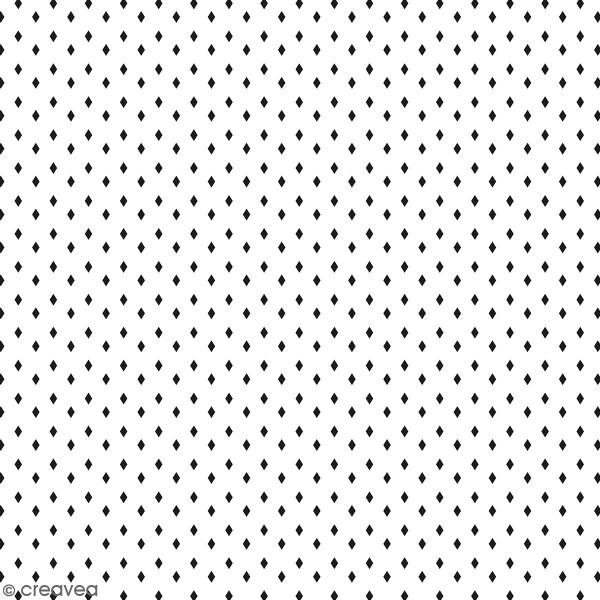 Feuille Calque Artemio - Losanges - 30,5 x 30,5 cm - 90 g - Photo n°1