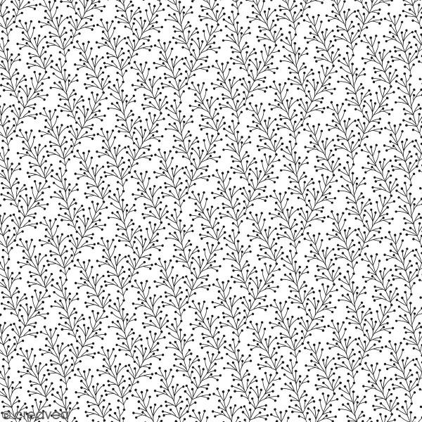 Feuille Calque Artemio - Branches - 30,5 x 30,5 cm - 90 g - Photo n°1
