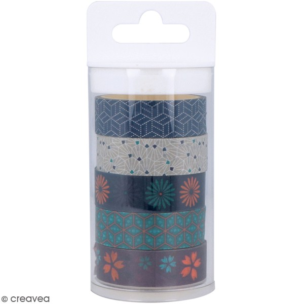 Masking Tape Artemio - Japan - 1,5 cm x 5 m - 5 pcs - Photo n°1