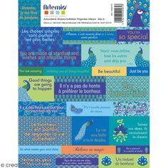 Stickers Artemio textes - My Lord - 64 pcs