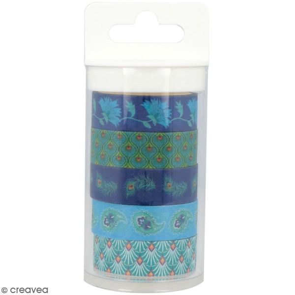 Masking Tape Artemio - My Lord - 1,5 cm x 5 m - 5 pcs - Photo n°1
