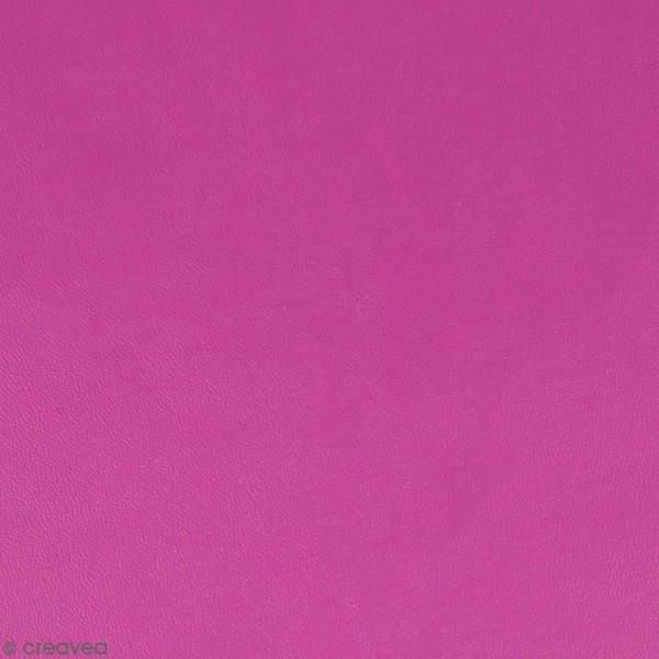 Feuille simili cuir Japan - Mauve clair - 30 x 30 cm - Photo n°1