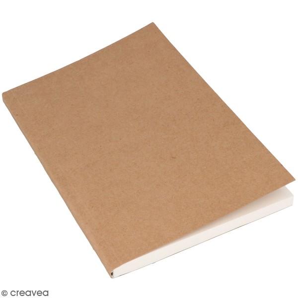 Cahier kraft souple pour bullet journal - 160 pages - Photo n°1