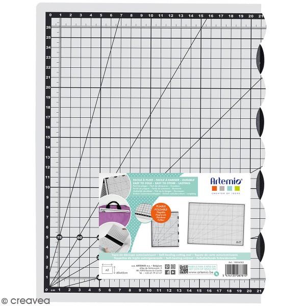 Tapis de découpe Pliable Artemio - 60 x 45 cm - Photo n°1