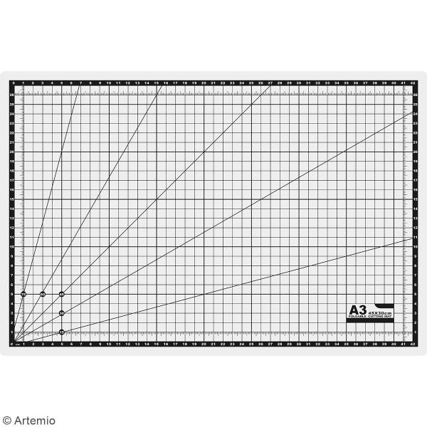Tapis de découpe Pliable Artemio - 45 x 30 cm - Photo n°2