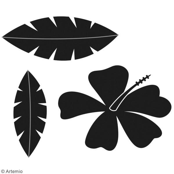 Matrice de coupe Feuilles - Artemio No Stress - 4 à 5,5 cm - 3 pcs - Photo n°2