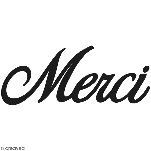Matrice de coupe  - Artemio Merci - 8 x 3,5 cm - 1 pce - Photo n°1