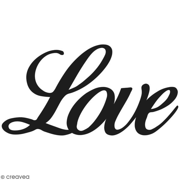 Matrice de coupe  - Artemio Love - 7,5 x 4 cm - 1 pce - Photo n°1