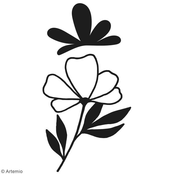 Matrice de coupe Fleurs - Artemio Good Vibes - 3 à 9,5 cm - 2 pcs - Photo n°2