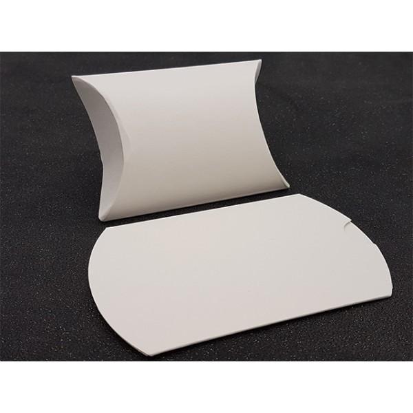 10 Pochettes Berlingots Emballages Bijoux Couleur Blanc 9x7cm - Photo n°1