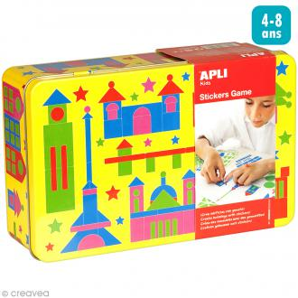 Kit gommettes Monuments - 1052 pcs