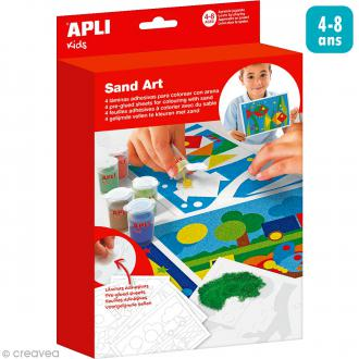 Kit créatif carte de sable