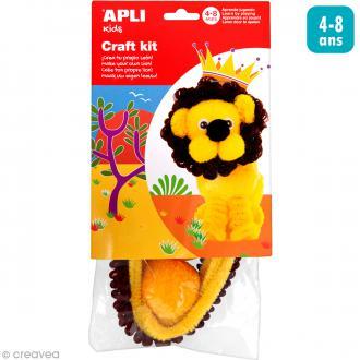 Kit créatif chenille Lion