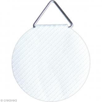 Attaches cadres - Papier toilé gommé - 3 cm - 10 pcs