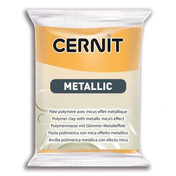 1 pain 56g pate Cernit Metallic OR - Photo n°1