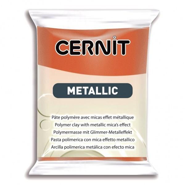 1 pain 56g pate Cernit Metallic Bronze - Photo n°1