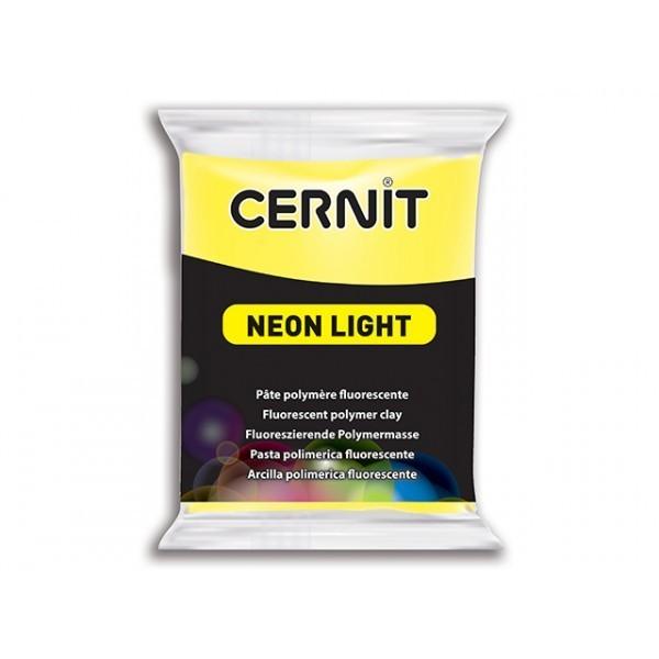 1 pain 56g pate Cernit Neon Jaune - Photo n°1