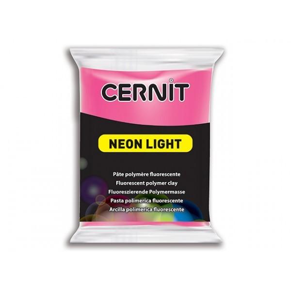 1 pain 56g pate Cernit Neon Rouge - Photo n°1