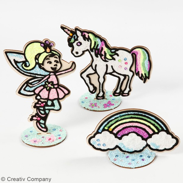 Faites votre propre figurines Enfants Fée Fées Set Art Crafts plâtre
