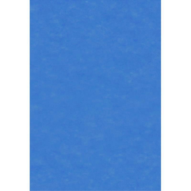 papier de soie bleu x 8 feuilles 50 x 75 cm papier de soie uni creavea. Black Bedroom Furniture Sets. Home Design Ideas