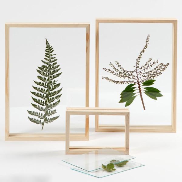 Cadre en bois 3D - 16 x 11 x 4 cm - Photo n°2