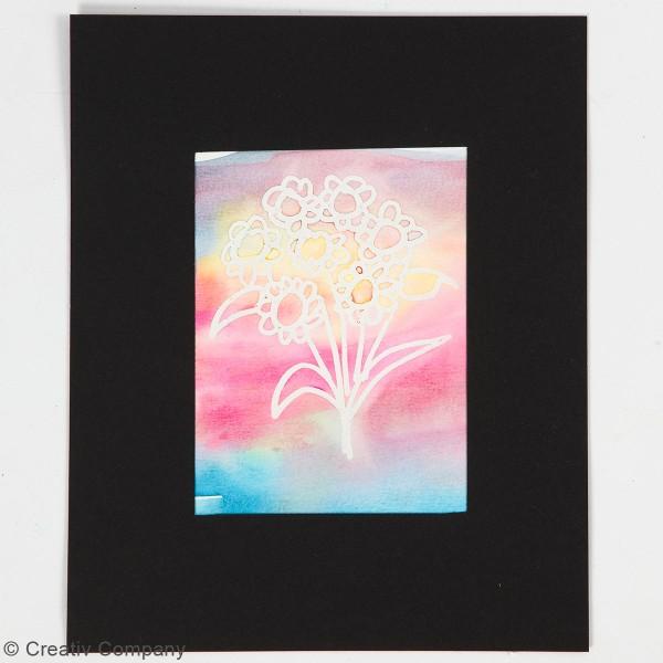 Boîte d'aquarelle avec pinceau - 24 couleurs - Photo n°2