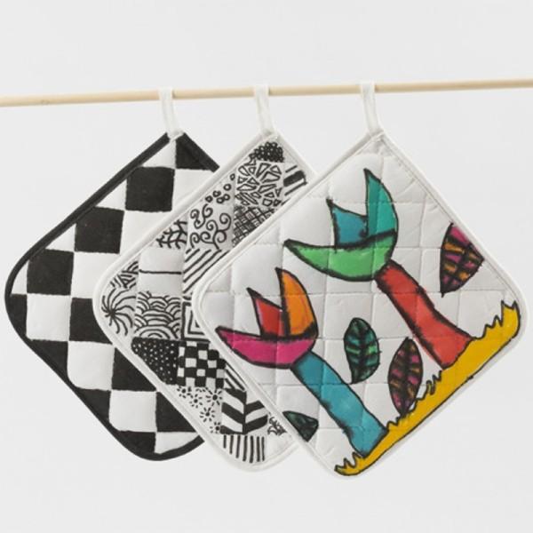 Assortiment Feutres textile double pointe - 20 pcs - Photo n°4