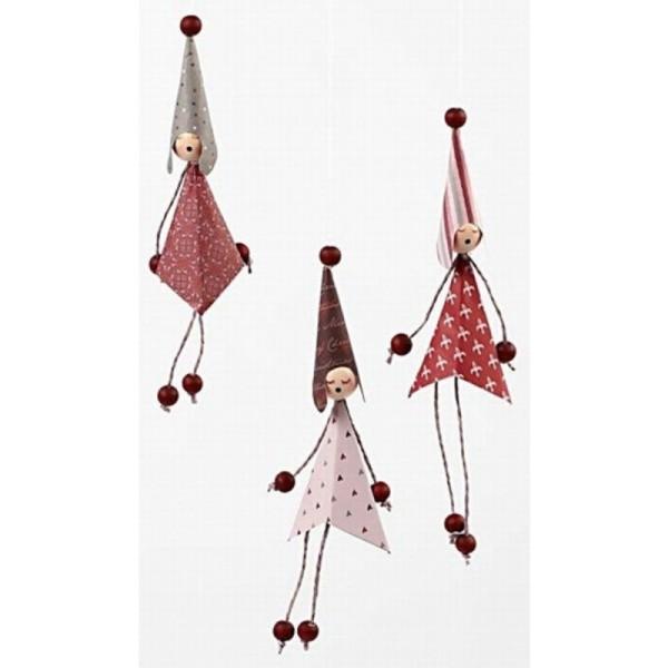 Têtes poupées en bois à coller - 2 cm - 16 pcs - Photo n°5