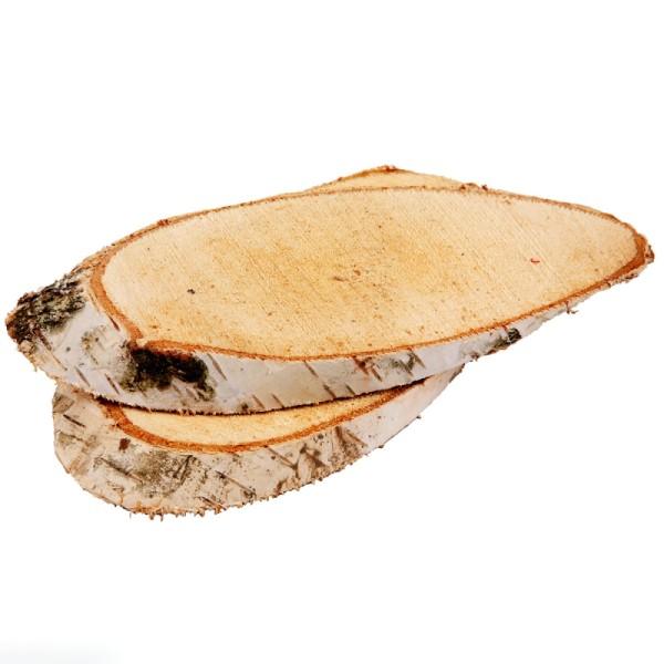 Rondelles de bois décoratives - 15 x 9  cm - 7 pcs - Photo n°1