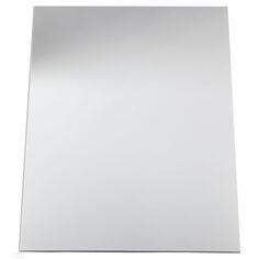 Feuille de miroir en plastique 1,1 mm - 21 x 29,5 cm - 1 pièce