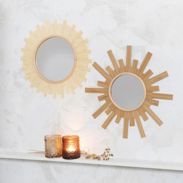 Plaque miroir plastique - 21 x 29,5 cm - 1 pce - Photo n°2