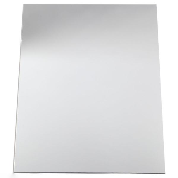 Plaque miroir plastique - 21 x 29,5 cm - 1 pce - Photo n°1
