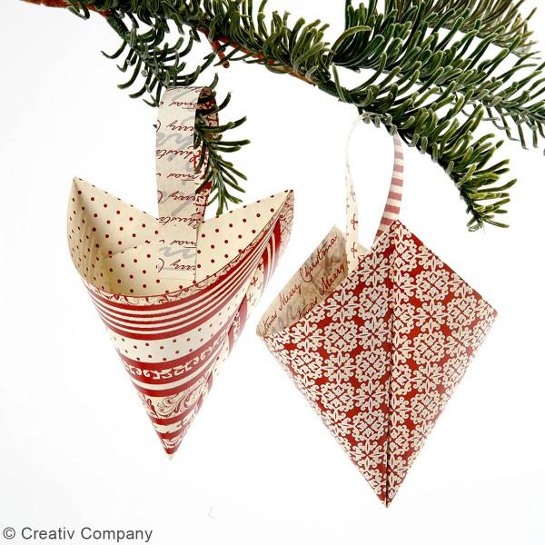 Papier Origami - Scandinave - 15 x 15 cm - 50 pcs - Photo n°2