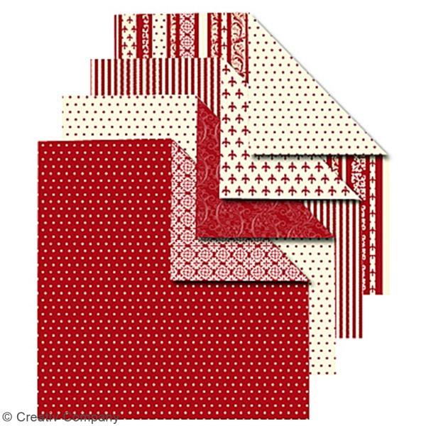 Papier Origami - Scandinave - 15 x 15 cm - 50 pcs - Photo n°4