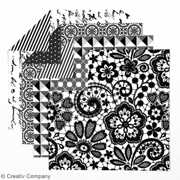 Papier Origami - Paris - 15 x 15 cm - 50 pcs - Photo n°2